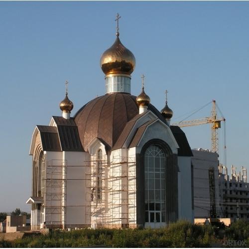 Россия. Набережные Челны. Церковь Серафима Саровск