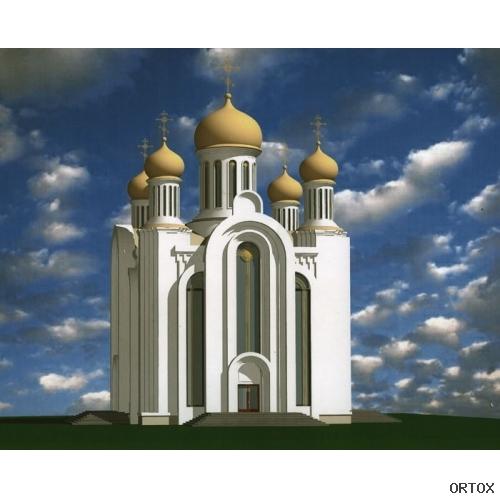 Беларусь. Минск. Проект храма