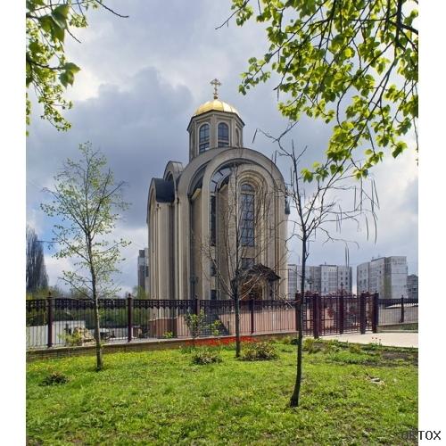 Украина. Донецк. Свято-Воскресенский храм