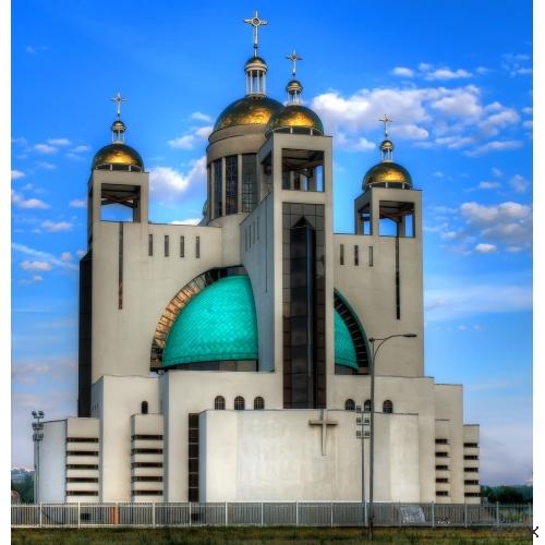 Украина. Киев. Патриарший собор Воскресения Христо