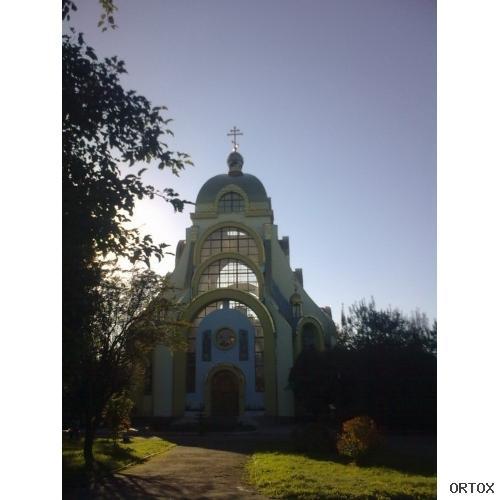 Украина. Львов. Церковь Бориса и Глеба