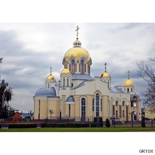 Украина. Россошь. Свято-Ильинский храм