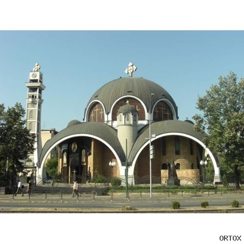 Македония. Скопье. Собор Святого Климента Охридско