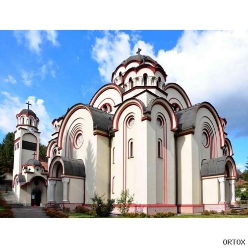 Сербия. Добой. Ххрам св.ап. Петра и Павла