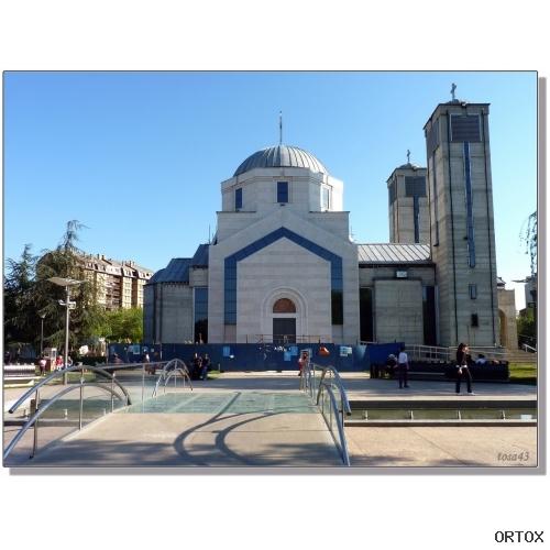 Сербия. Ниш. Храм Ст. Цар Константин и Цариц. Елен