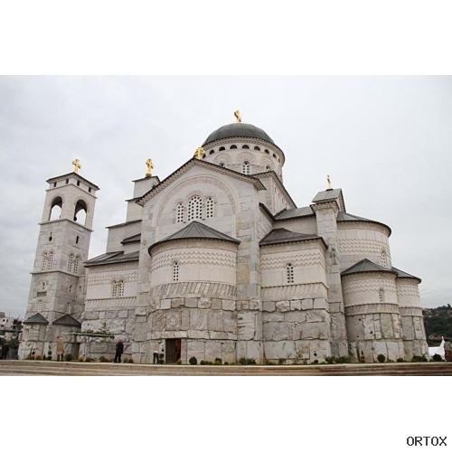 Черногория. Подгорицы. Храм Воскресения Христова