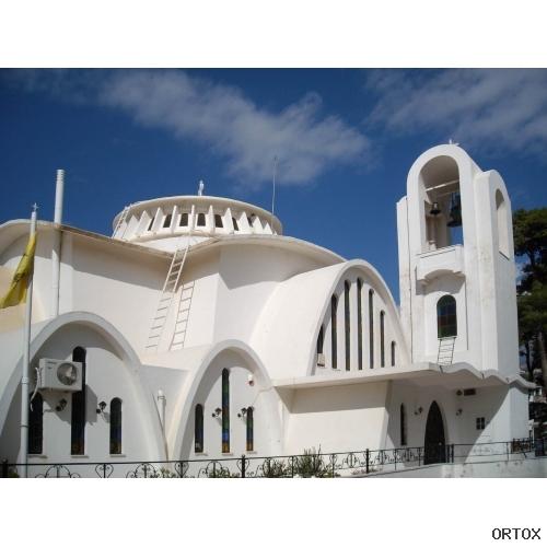 Греция. Church of Zoodochos Pigi at Melissia