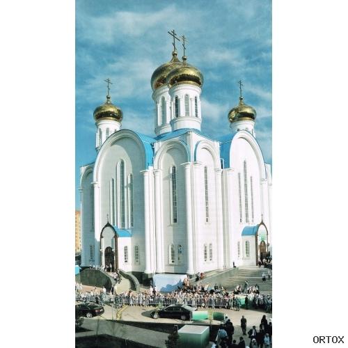 Казахстан. Астана, Успенский каф. собор