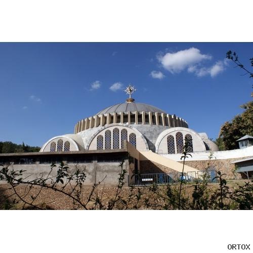 Эфиопия. Аксум. Коптский храм