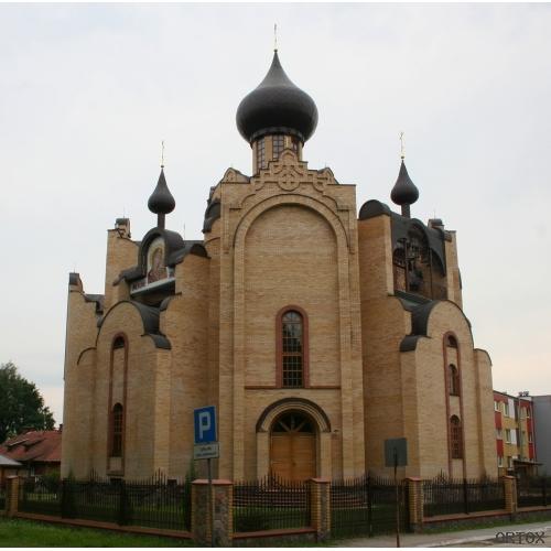 Польша. Гайновка. Церковь Рождества Иоанна Крестит