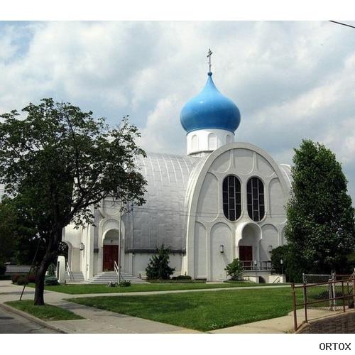США. Queens. Храм Святителя Николая