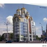 Украина. Донецк. Храм на крыше