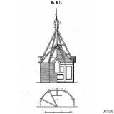 Конструкция дерев. шатра церкви на 400 чел.