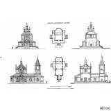 К. Тон. Проект дерев. церквей 1