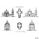 К. Тон. Проект кам. церквей