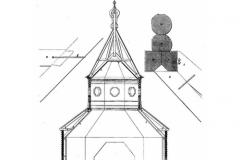 Конструкция покрытия дер. храма
