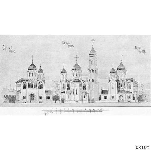 Эскизный проект храма