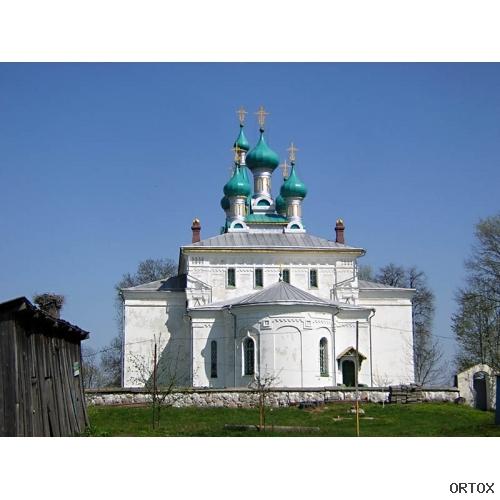 Беларусь. Прозорки, ц.Петра и Павла, 1917