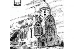 Гримм. СПб.. Церковь Алексия Божия человека.