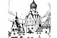 Суслов. Эскизный проект храма