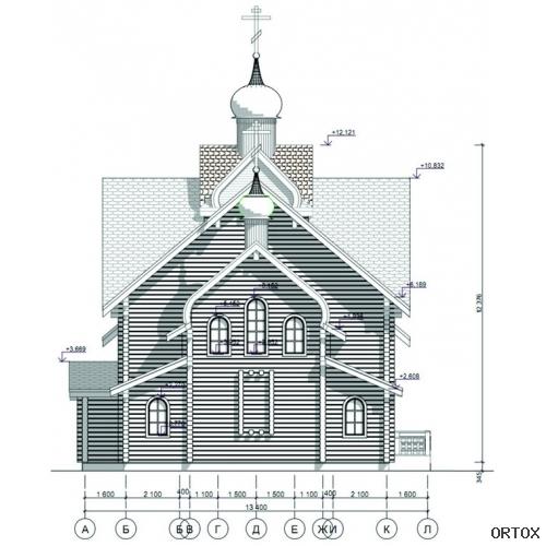 Фасад восточный