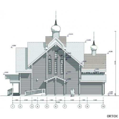 Фасад южный