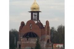 Монтаж купола